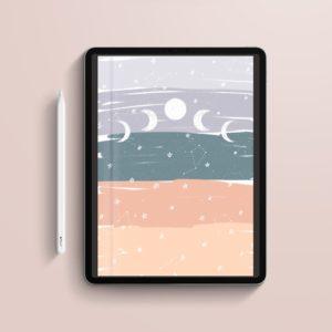 Cuaderno Digital Moon Portada