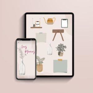 pegatinas digitales home