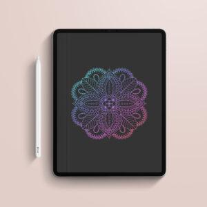 Cuaderno digital de hojas negras