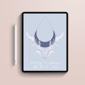 Cuaderno digital con hojas punteadas portada