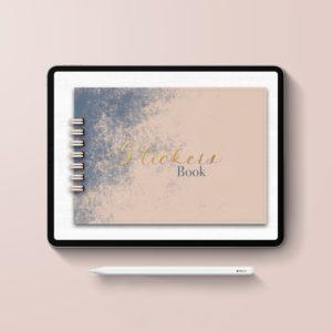 album digital Stickers book